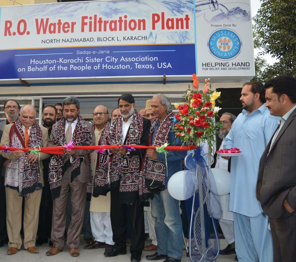 Inauguration of the HKSCA Water Project