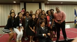 Karim Wasfi with Youth Leadership Summit Participants in Virginia Beach