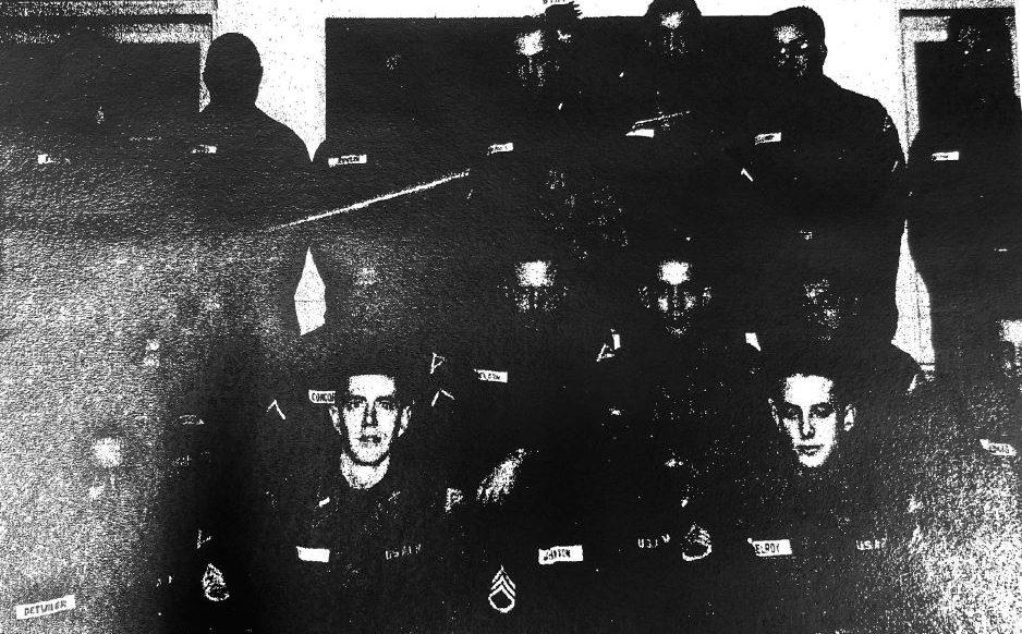 Ed Adams during Honor Flight