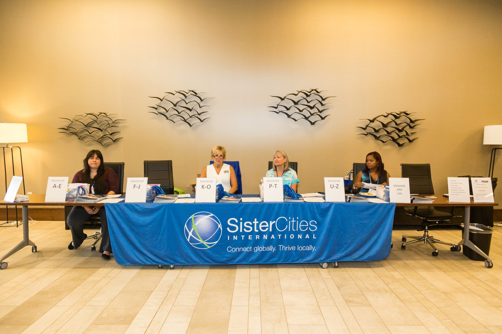 2018 Annual Conference Registration Desk