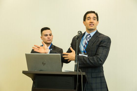 Carlo Capua and Jason Tatman Welcome Attendees to the NextGen Track