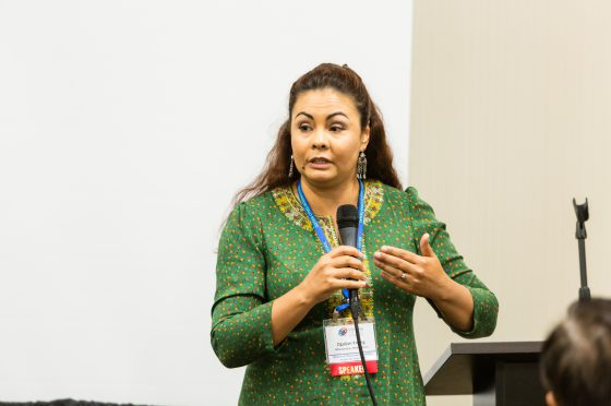 Oguljan Young Speaks to Silk Road Track Attendees