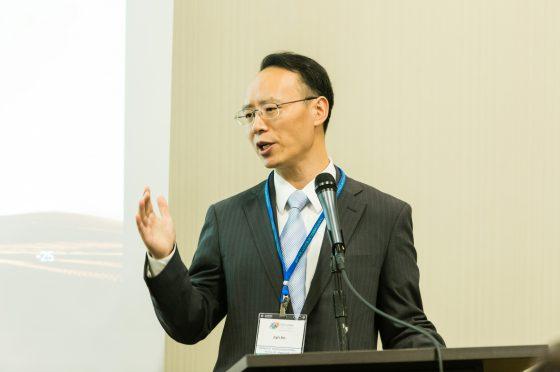 Jin Lyu Speaks to Silk Road Track attendees