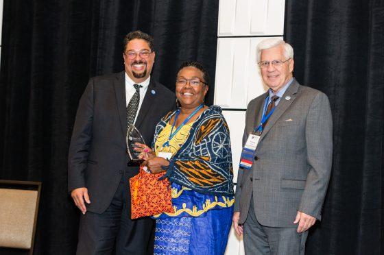 LueRachelle Brim-Atkins Receives Volunteer of the Year Award