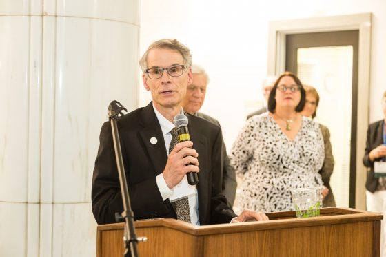 Mayor Bob LeGare at the Global Leaders Circle Reception