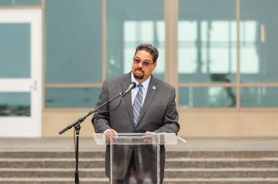 Roger-Mark De Souza Gives Remarks at the Opening Ceremony