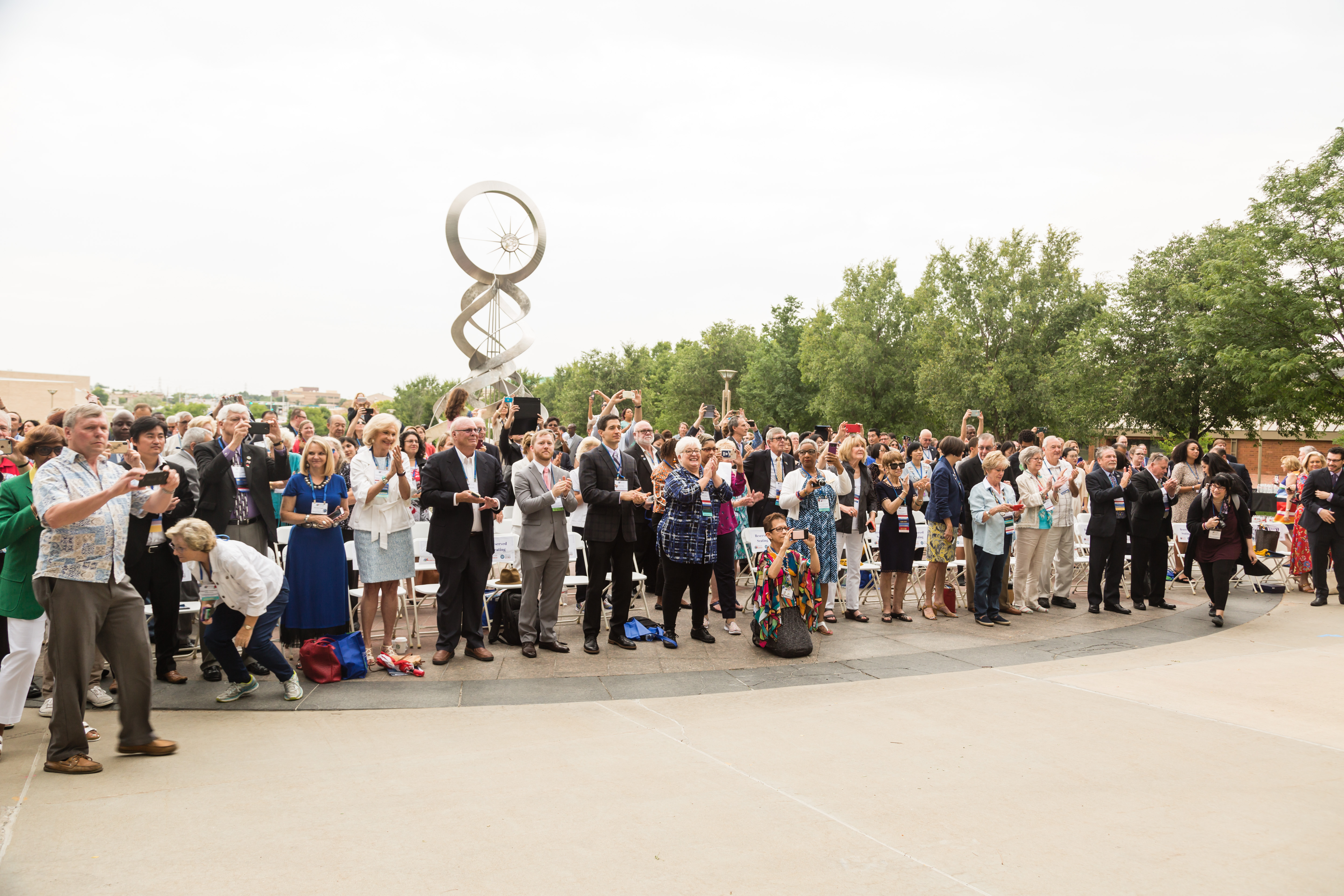 Attendees at the Opening Ceremony