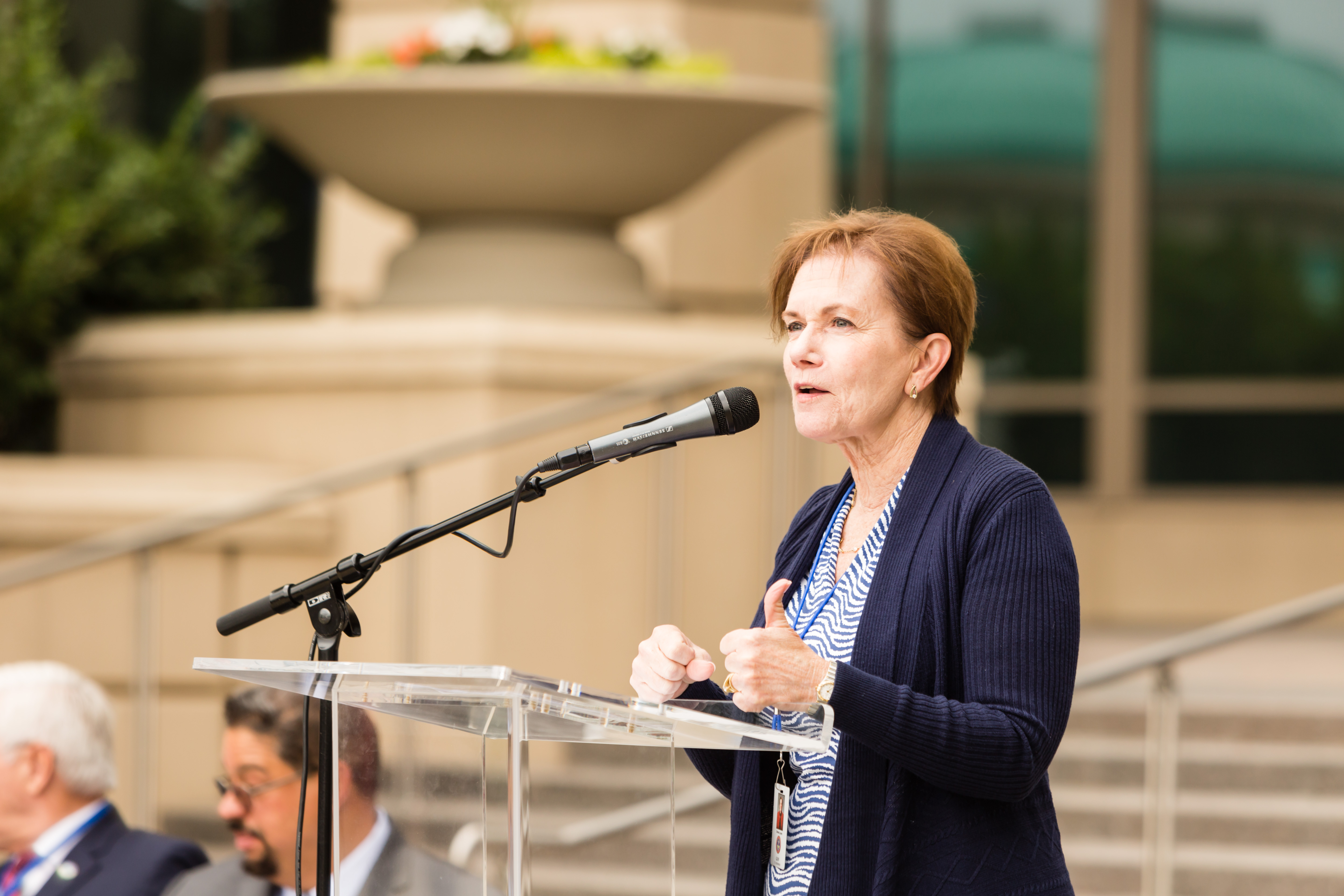 Lt. Governor of Colorado Donna Lynne Gives Remarks at the Opening Ceremony