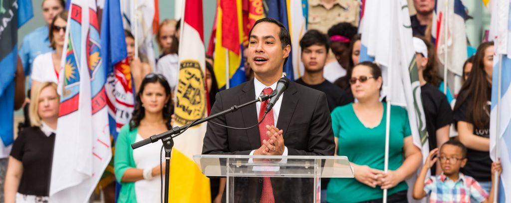 Julián Castro Gives Remarks at the Opening Ceremony