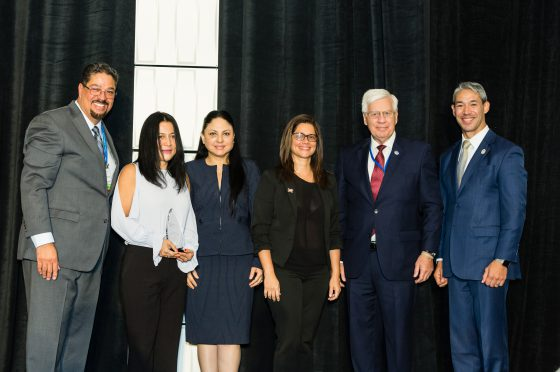 Houston Guayaquil Sister Cities Representatives Accept Annual Award