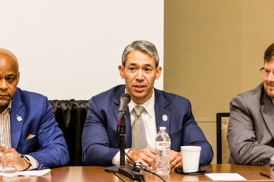 Ron Nirenberg Speaks at Human Face of Cities Leading the Way Panel