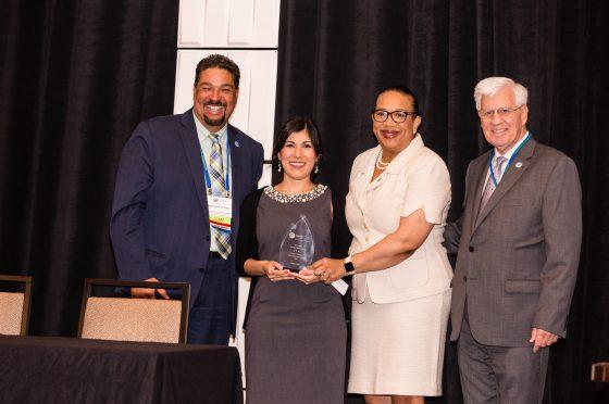 GReater Columbus Sister Cities Representatives Accept Annual Award