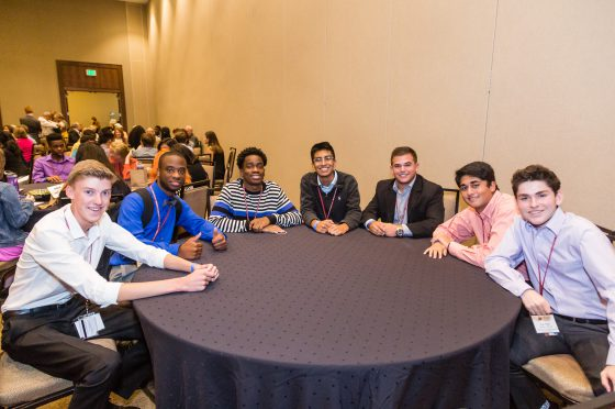 Youth Leadership Summit Students at the Conference