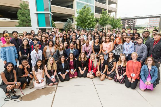 Youth Leadership Summit Participants