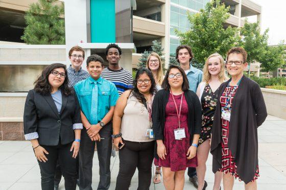 Youth Leadership Summit Students