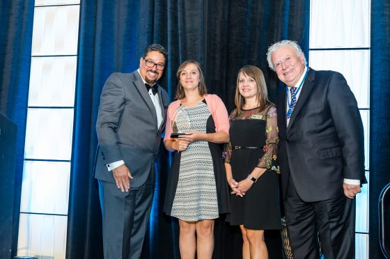Representatives from Hays Sister Cities Receive Award