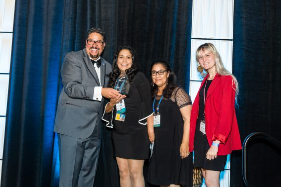 Representatives from Culver City Sister Cities Receive Award
