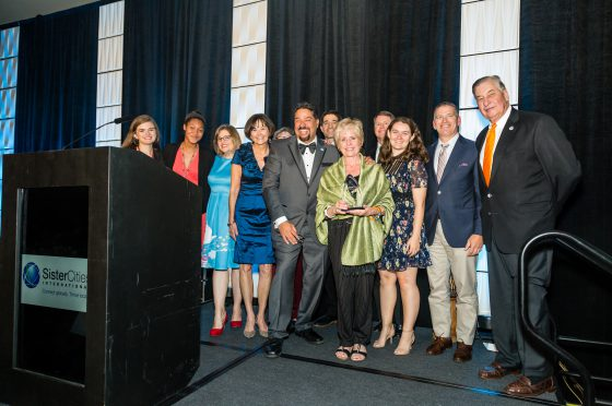 Representatives from Fort Worth Sister Cities Receive Award