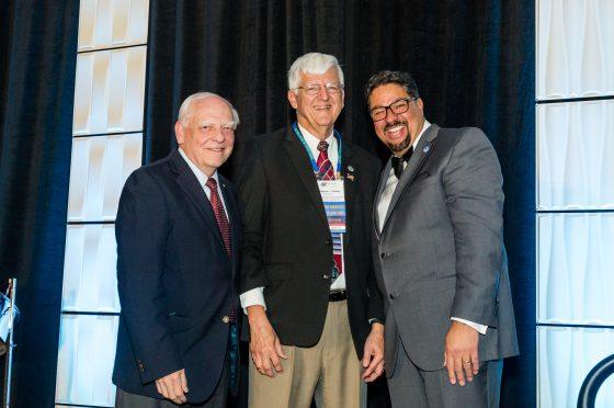 Larry Uebner Receives State Representative Distinguished Service Award
