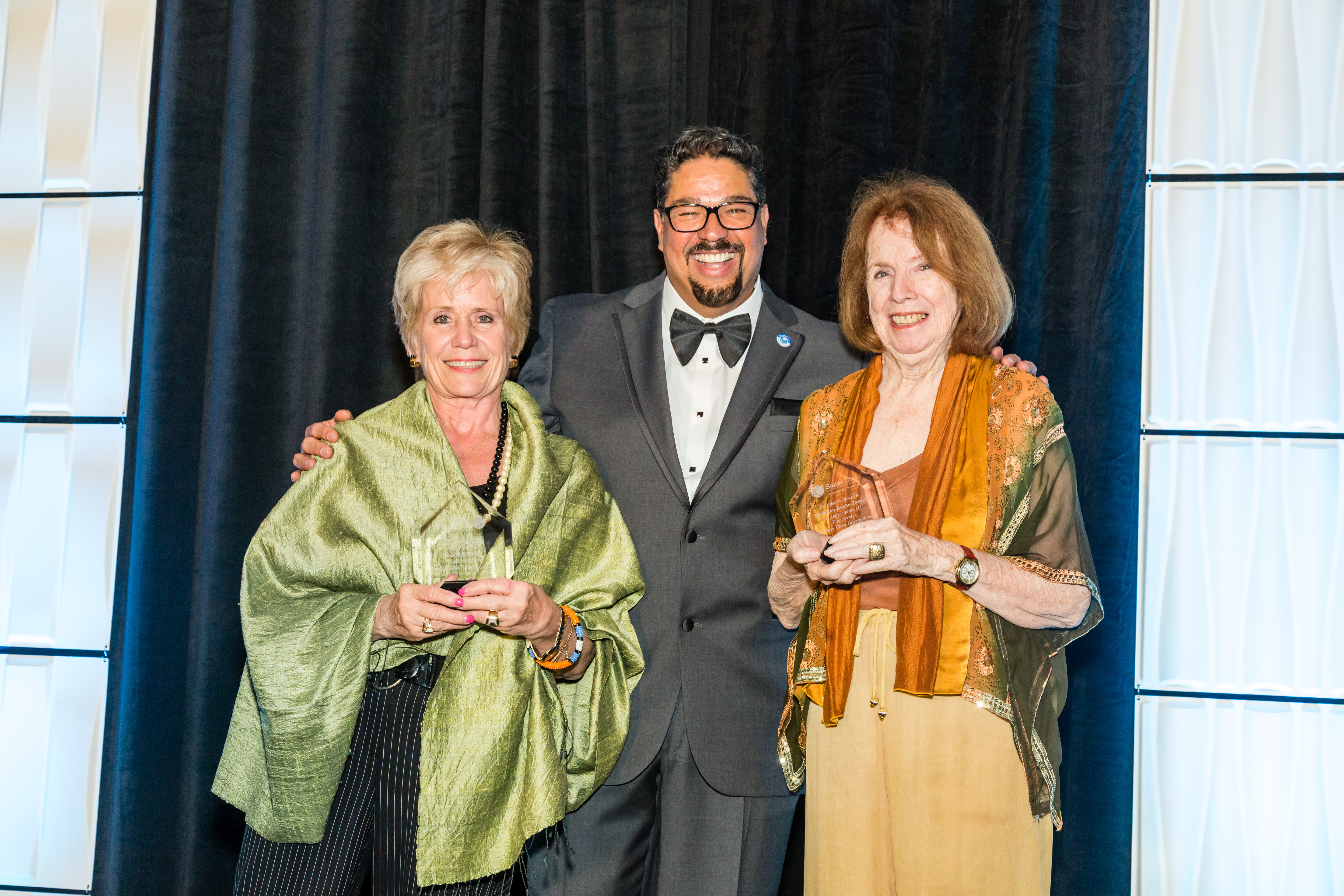 Kathleen ROche-Tansey and Mary Palko Receive Presidents' Awards
