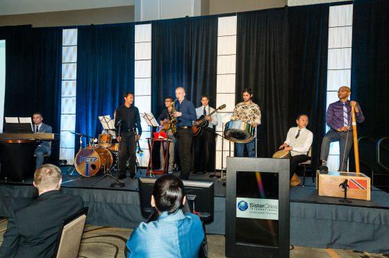 Sister Cities Jazz Ensemble Plays at Awards Dinner