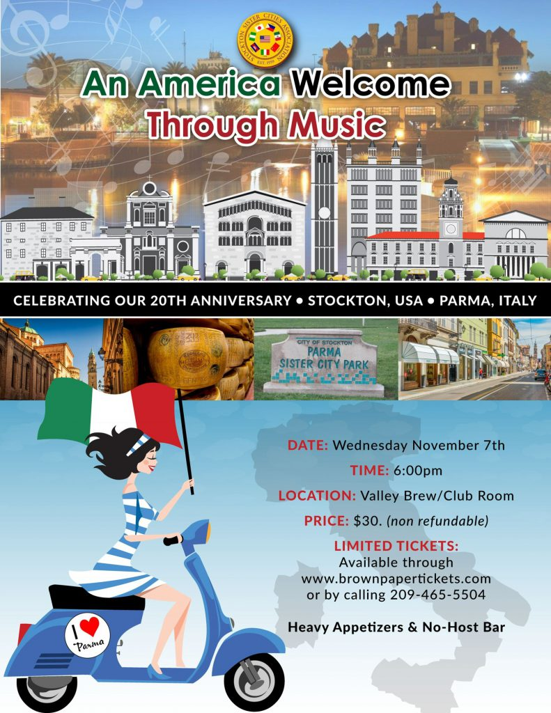 An America Welcome Through Music Sister Cities