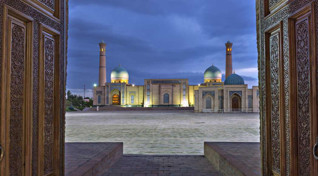 View of Tashkent, Uzbekistan