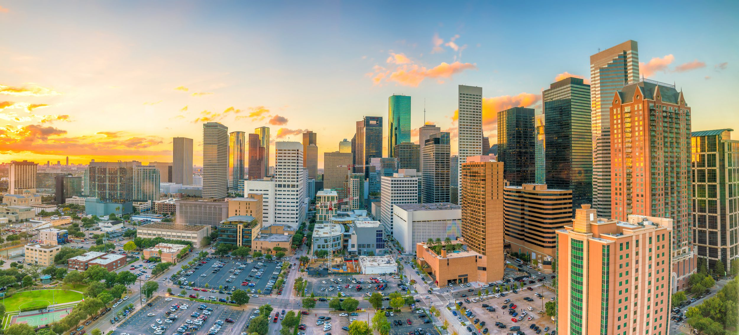 Image of the Skyline of Houston, Texas